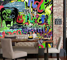 3D Fashionable Graffiti 3981 Wallpaper Decal Dercor Home Kids Nursery Mural Home
