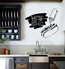 Vinyl Wall Decal Hot Dog Fast Food Cook Canteen Kitchen Stic