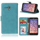 Matte Wallet Leather Flip Stand Case Cover For Alcatel 1X Pixi 4 A3 U5 3G Idol 4