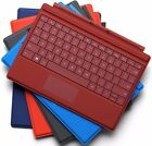"""Genuine Microsoft Surface 3 10.8"""" Type Cover Keyboard Backlit (black blue red)"""