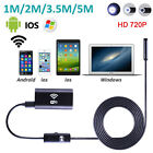 HD Wifi Endoscope Inspection Pipe Snake Camera for iPhone 7 6s plus iOS Android