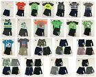 Jumping Beans Carter's NWT Boys 2T Shorts Outfits Toddler Shorts Tops Tanks