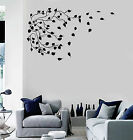 Vinyl Wall Decal Branch Leaves Tree Art House Interior Art Stickers (ig4552)