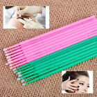 100x 2mm Microblading Micro Brushes Swab Lint Free Tattoo Disposable Applicator