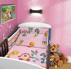 BUMPER FOR COT and COT BED NURSERY STRAIGHT CLEARANCE STOCK