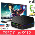 Sunvell T95Z Plus Android 6.0 4K Smart TV Box Amlogic S912 2.4G/5G WiFi 2GB+16GB