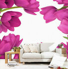 3d Bright Tulip Flowers 9089 Wallpaper Decal Decor Home Kids Nursery Mural Home