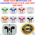 New Colour Headphones Earphone Handsfree With Mic Samsung iPhone5,6,7,iPod,iPad  <br/> BUY 2 GET 1 FREE---MIX &#039;N MATCH-- FREE 1ST CLASS POST
