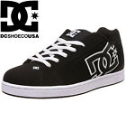 DC Shoes Men's Net Trainers Low Top Casual Leather Upper Trainers Shoes