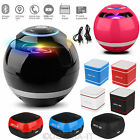 Wireless Mini Portable Speakers FM Radio Subwoofer Tweeter For Computer Laptop