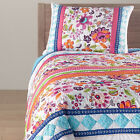 New Carly Pink Quilt and Sham Seperates by Quiltbay