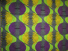 NEW BEAUTIFUL WAX PRINT AFRICAN COTTON FABRICS FOR CRAFT AND DRESSES*        .