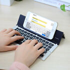 mini portable keyboard - Portable Foldable Folding Wireless Mini Bluetooth Keyboard For iPhone PC Tablet