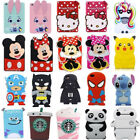 Cute 3d Cartoon Kids Girls Silicone Soft Case Cover For Ipad 234 Mini 123 Air 2