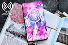 Dreamcatcher Luxury Flip Cover Wallet Card PU Leather Phone Case Stand Galaxy