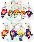 Hot Anime  Love Live Soft Rubber Keychain Keyring Bag Cosplay Pendant Keychains