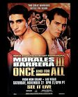 MARCO ANTONIO BARRERA v ERIK MORALES 08 (BOXING) PHOTO PRINT OR MUG OR CRYSTAL