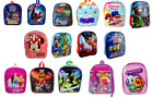 Childrens Character School Bag, Paw Patrol Spiderman Pj Masks Backpack Rucksack