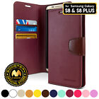 for Galaxy S8 / S8+ Plus Case, GOOSPERY Sonata Diary Flip Stand Wallet Cover