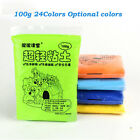 100g 24 colors Available colors DIY Fimo Polymer Modelling Soft Clay Craft DIY image
