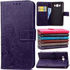 Luxury Magnetic Flip Leather Wallet Card Case Cover For Samsung Galaxy J7 J5 J3