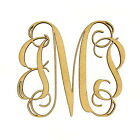 Wooden Three Letter Monogram - Large or Small, Unfinished, Great For Weddings!