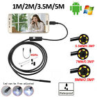 1/2/3.5/5M 6LED Mini USB Inspection Pipe Endoscope Camera for Android Phones PC