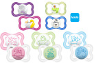 MAM Air Soothers/Dummies Boys and Girls 0 months+, 6 months+