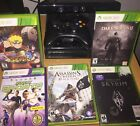 White Microsoft Xbox 360  *Console and TV cord only* Works good-factory reset