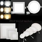 Thin 13mm Dimmable Cree LED Recessed Ceiling Panel Down Light Bulb w Driver Kit