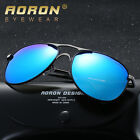 New Wide Frame Outdoor Mens Polarized Sunglasses Driving Eyewear Sports Oval HD