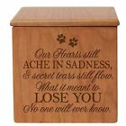 Personalized Dog Memorial Urn Cat  Urn Pet Memorial Woode...