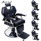 Hydraulic Reclining Barber Chair Salon Hair Styling Beauty Spa Shampoo Styling
