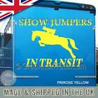 Horse Box Stickers Show Jumpers In Transit Horse Trailer Vinyl Graphic Decals