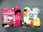 """Soft Silk Touch Throw Blankets 46"""" x 60"""" Hello Kitty Despicable ME - You Choose"""