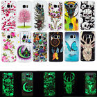 For Samsung Galaxy Fashion Luminous Soft Silicone TPU Skin Case Phone Back Cover