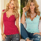 Fashion Women's Ladies Summer Loose cotton Tops Sleeveless Shirt Casual Blouse