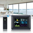 Wireless Color Weather Station Indoor/Outdoor Forecast Temperature Humidity EU