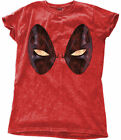 Marvel Deadpool 'Eyes' Womens Snow Wash T-Shirt - NEW & OFFICIAL!