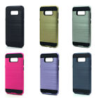 Lot/6 Brushed Finish Hybrid Case for Samsung Galaxy S8 Plus Wholesale