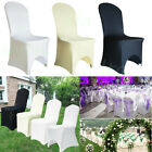 100 White Spandex Chair Covers Wedding Party Lycra Wedding Party Favour For Sale