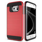 Shockproof Rubber Brushed Case For Samsung Galaxy S4 S5 S6 S7 Edge Note 3 4 5 J7