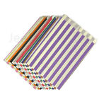 CANDY STRIPE PAPER BAGS SWEET FAVOUR BUFFET GIFT SHOP PARTY SWEETS CAKE CART