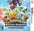 3DS POKEMON MYSTERY DUNGEON GATES TO INFINITY - VIDEO GAME - *BRAND NEW SEALED*