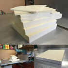Foam Cut to Size - Medium Density 36kg Beige Foam - 20'' X 20'' - 25'' X 25''