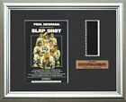 SLAP SHOT     Paul Newman - Michael Ontkean     FRAMED MOVIE FILMCELLS