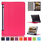 "Luxury Slim Leather Flip Folio Protect Case Cover For Lenovo Yoga Tab 3 8"" 850F"