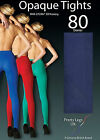 PRETTY LEGS 80 DEN OPAQUE TIGHTS IN COBALT BLUE, CHOCOLATE OR NAVY