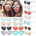 Fashion Cat Eye Sunglasses Classic Designer Women Retro Mirrored Shades Eyewear