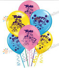Trolls Troll Balloons Party Supplies Balloon poppy cupcake topper cake supplies